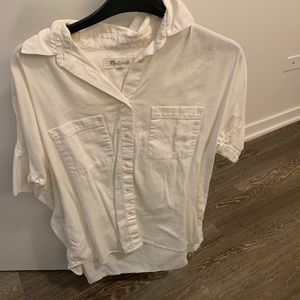 Tops - Madewell white top